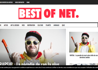 BEST OF NET chronique RAPSAL